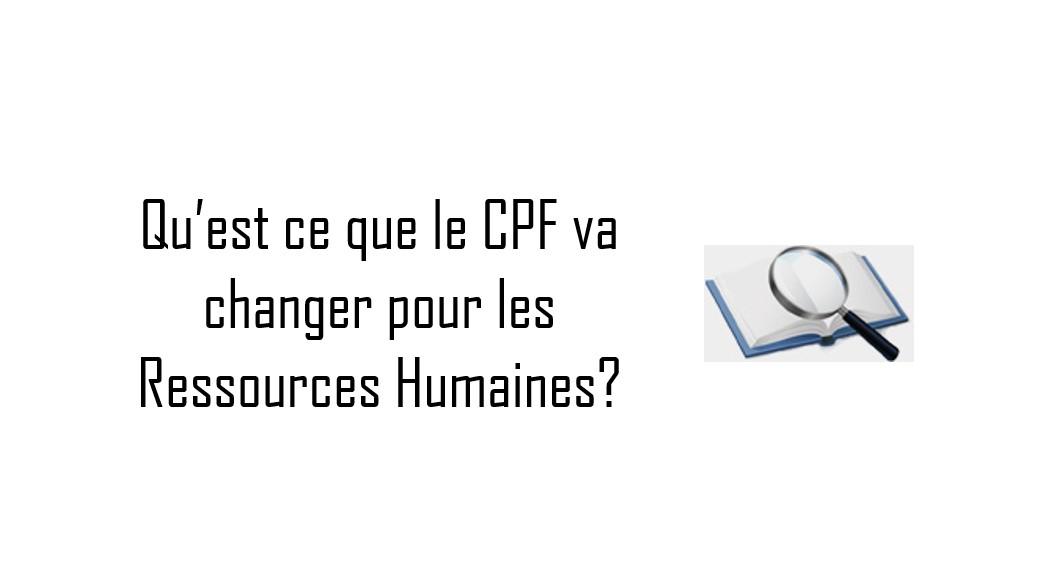 cpf pour rh ok